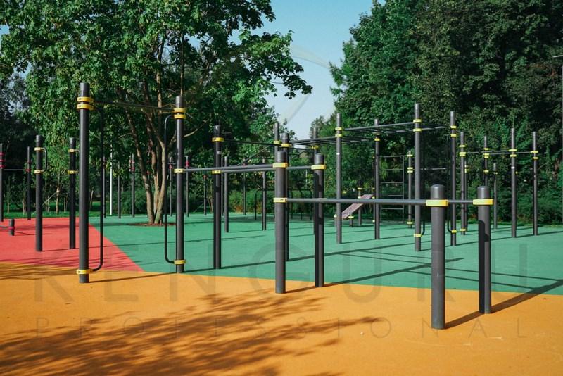 Наземное покрытие спортивной площадки